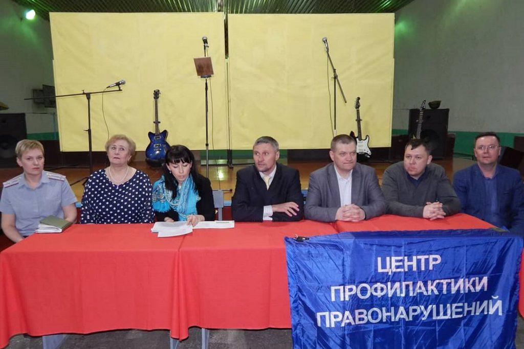 ИК-12 посетили представители общественности и департамента труда и занятости населения
