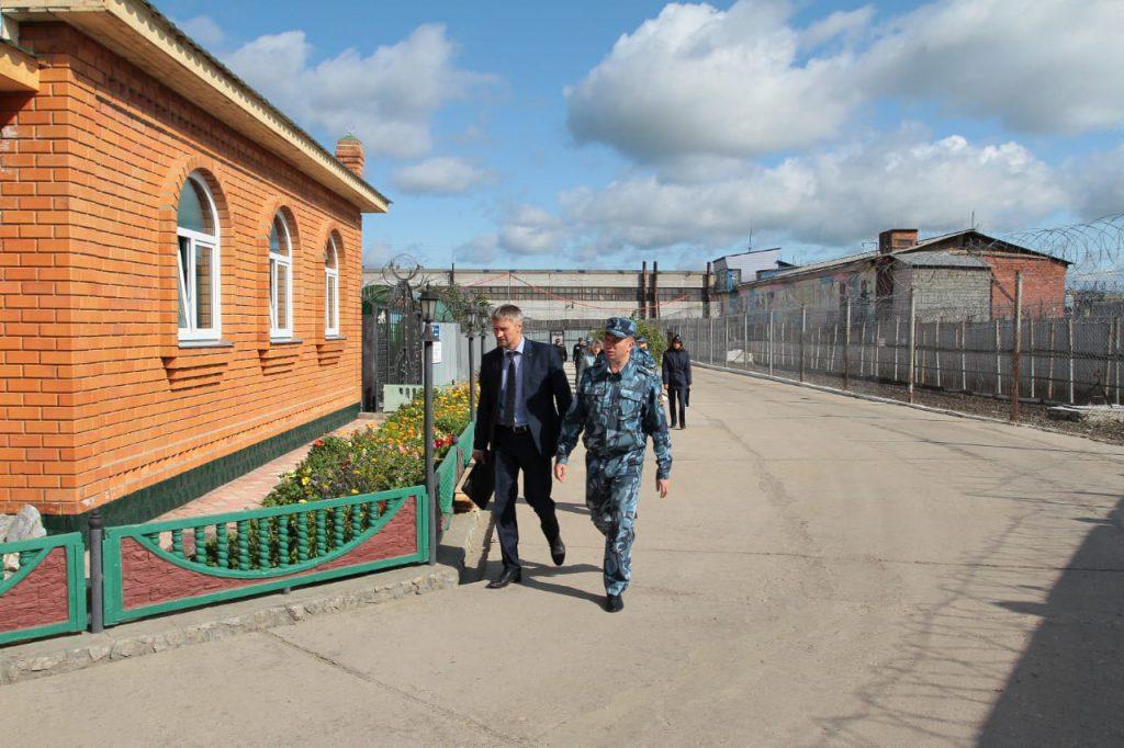Комплексный выезд в исправительные учреждения Невьянского городского округа №46 в рамках соц.проекта