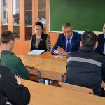Представитель свердловского омбудсмена и председатель СРО «Офицеры России» посетили ИК-10