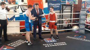 Турнир по боксу среди колледжей и техникумов г. Екатеринбурга