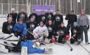 Товарищеский хоккейный матч ХК Республика - ХК Спутник