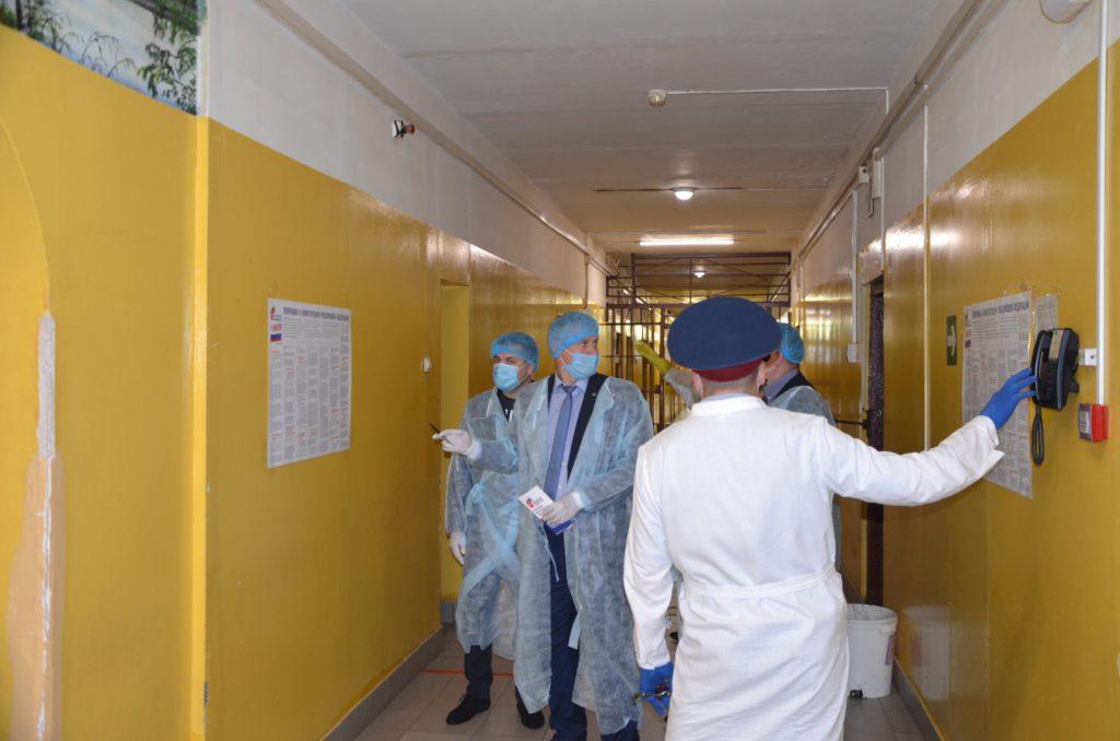 Проверка готовности СИЗО-3  к проведению Общероссийского голосования по вопросу внесения изменений в Конституцию РФ