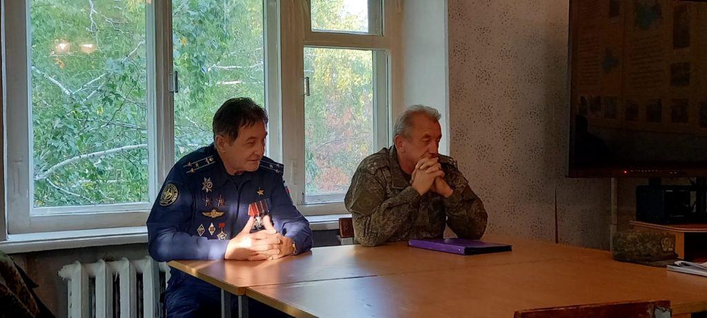 Рабочая встреча. п. Гагарский